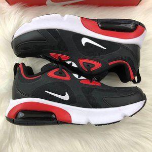 NWT Nike Air Max 200 Red & Black Sneakers